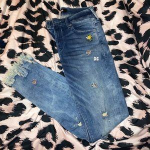 Embellished Express Skinny Jeans ✨🌸